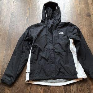 North Face nylon jacket.